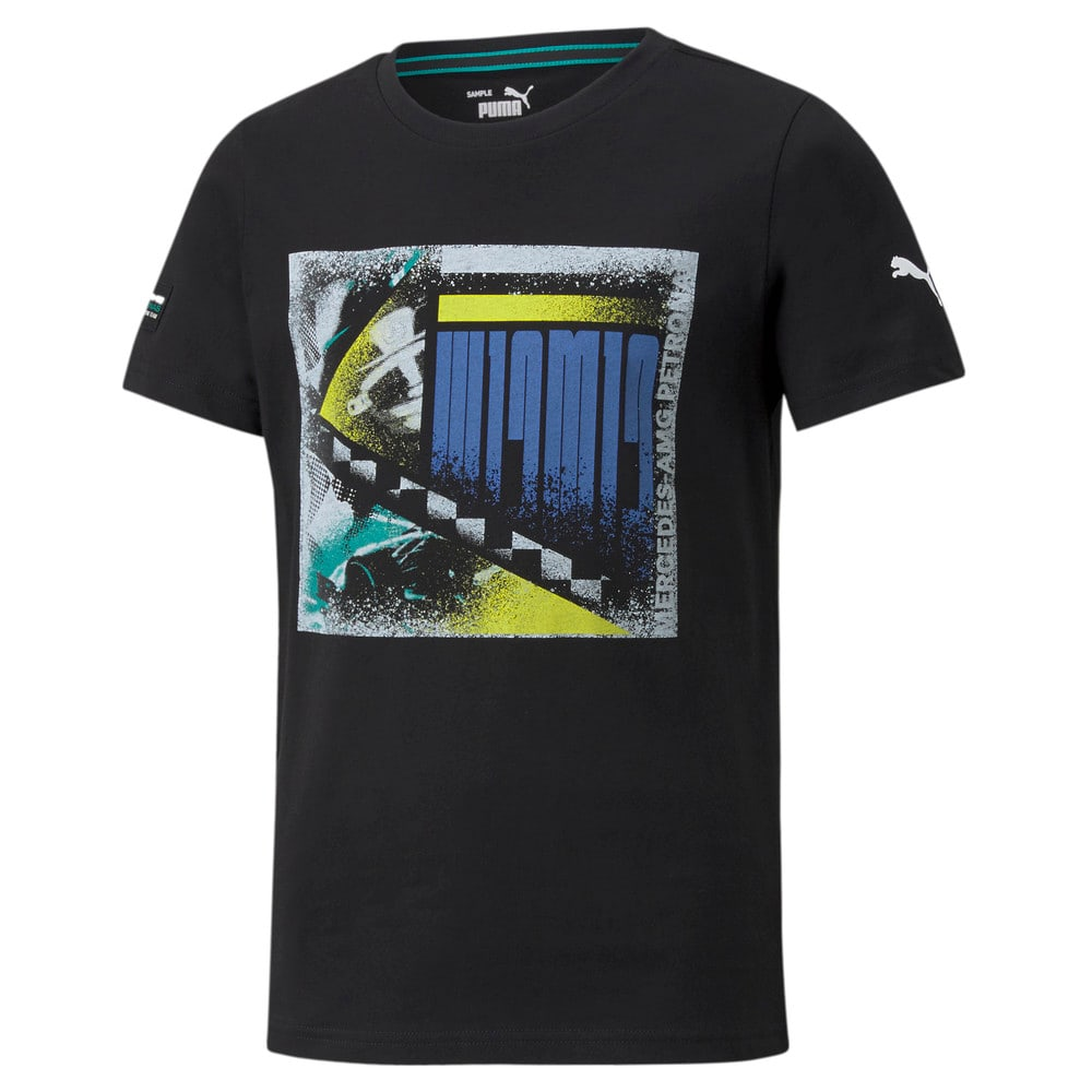 Image Puma Mercedes F1 Graphic Youth Tee #1