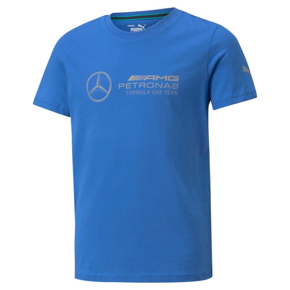 Изображение Puma Детская футболка Mercedes F1 Logo Youth Tee #1