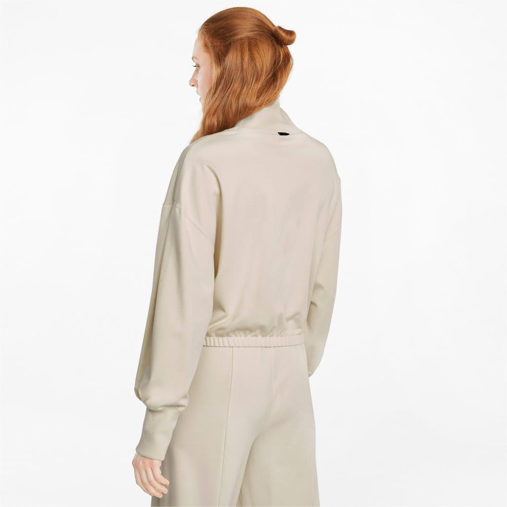 Изображение Puma Толстовка Infuse High-Neck Women's Sweater #2: Ivory Glow