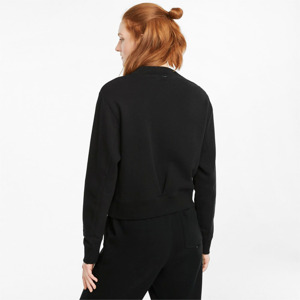 Зображення Puma Толстовка Infuse Crew Neck Women's Sweater #2: Puma Black