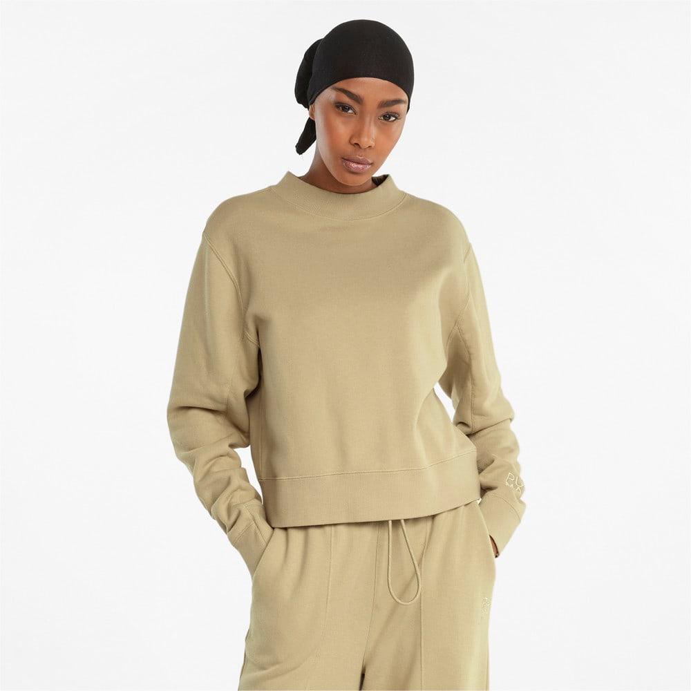 Изображение Puma Толстовка Infuse Crew Neck Women's Sweater #1: Pebble