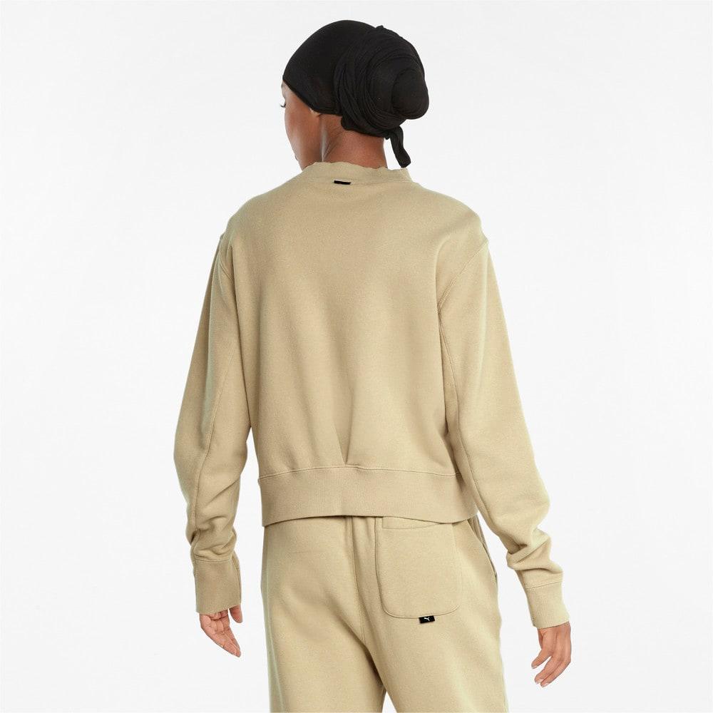 Изображение Puma Толстовка Infuse Crew Neck Women's Sweater #2: Pebble
