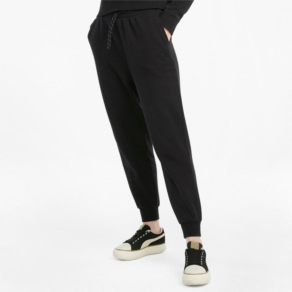 Изображение Puma Штаны Infuse Women's Sweatpants #1: Puma Black