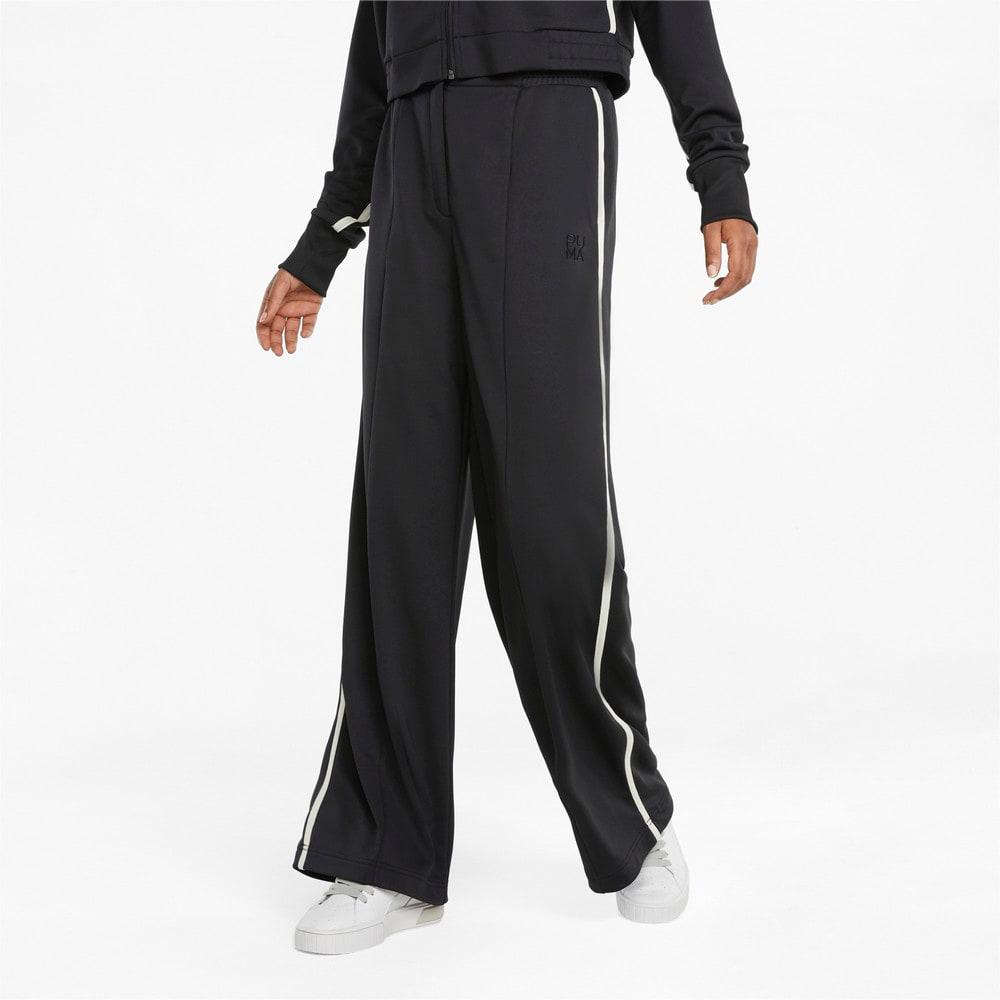 Изображение Puma Штаны Infuse Wide Leg Women's Pants #1: Puma Black