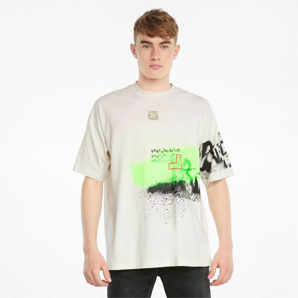 Görüntü Puma RE.GEN Boxy Grafikli T-shirt #1