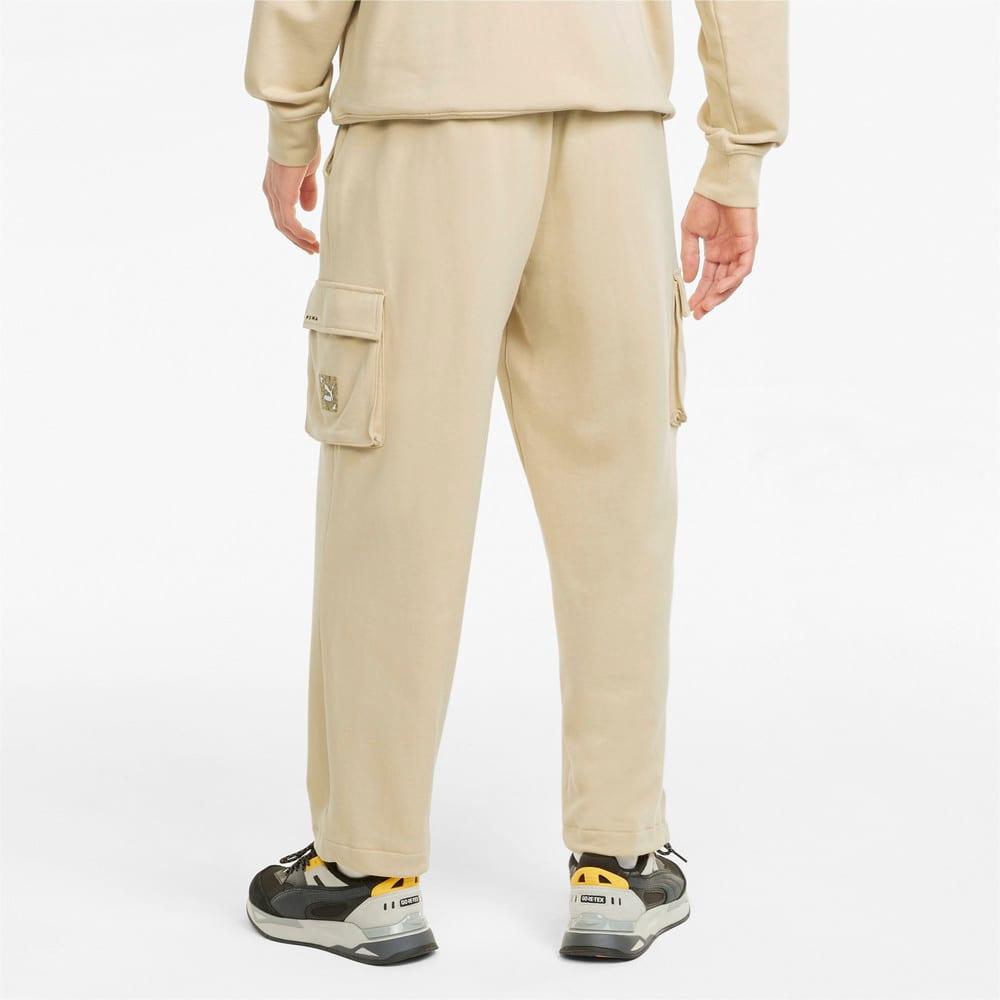 Изображение Puma Спортивные штаны RE.GEN Cargo Sweatpants #2: Pebble