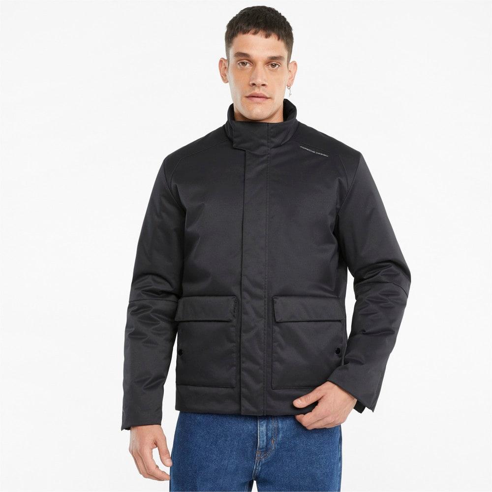 Изображение Puma Олимпийка Porsche Design Light Men's Racing Jacket #1: Jet Black