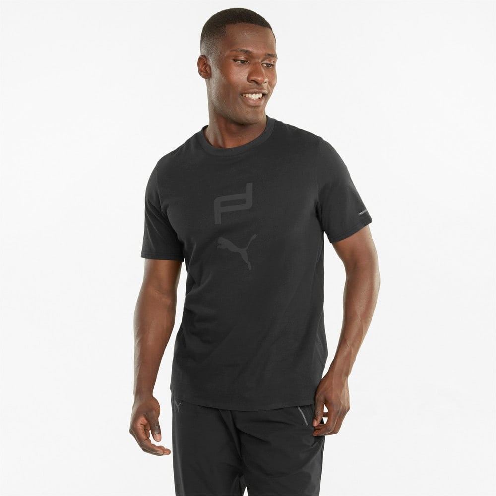 Изображение Puma Футболка Porsche Design Graphic Men's Tee #1: Jet Black