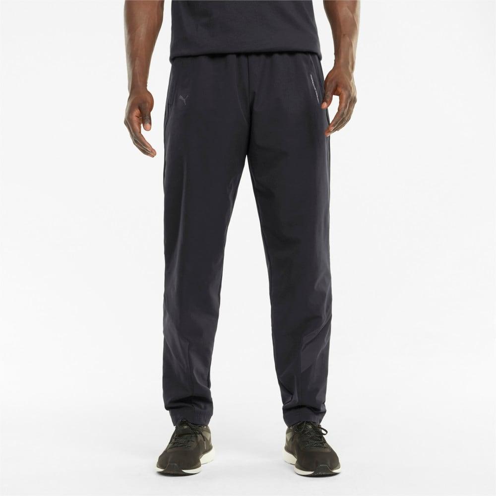 Изображение Puma Штаны Porsche Design MCS Woven Men's Pants #1: Jet Black