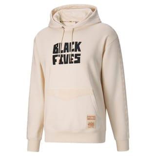 Görüntü Puma BLACK FIVES Erkek Basketbol Kapüşonlu Sweatshirt