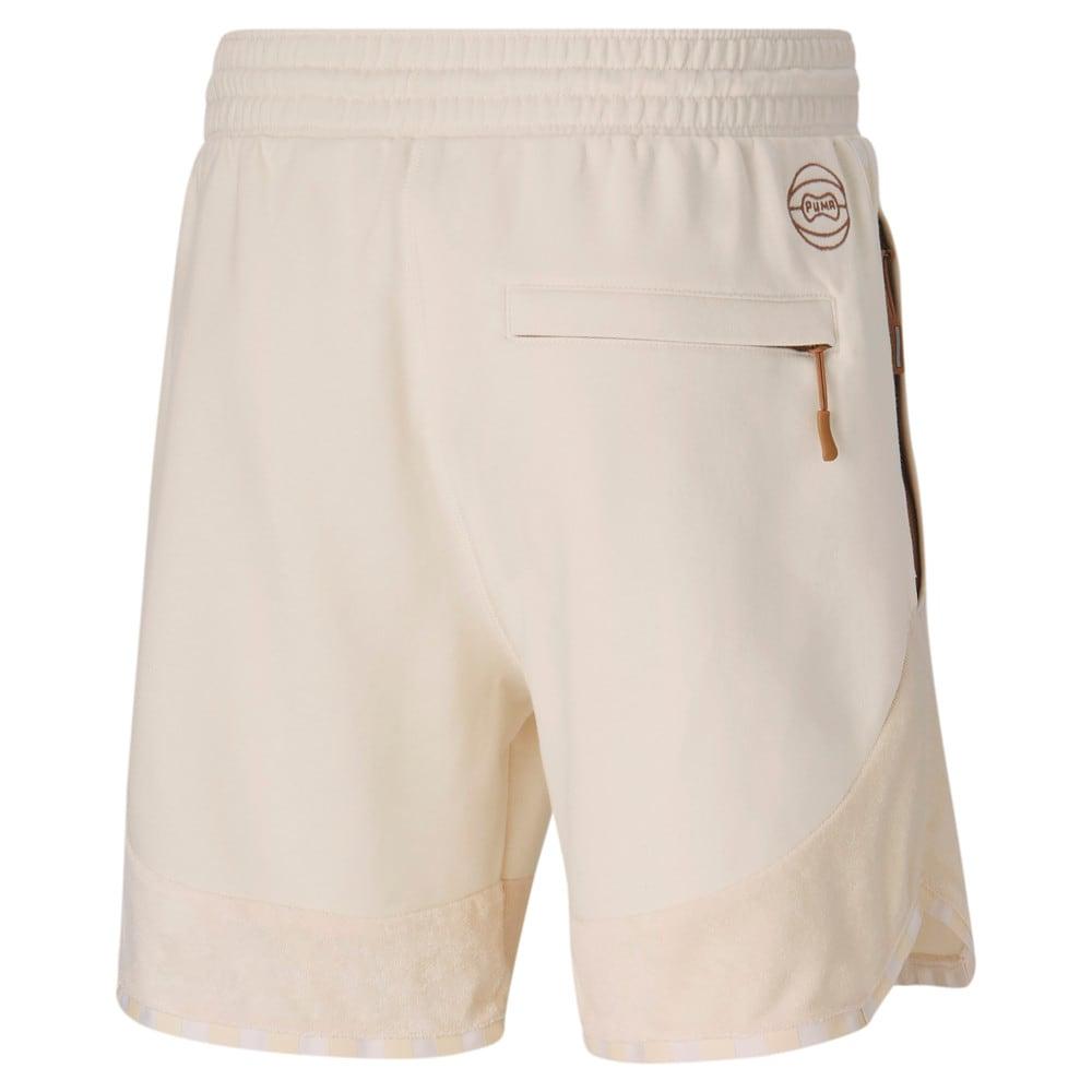 Image Puma Black Fives Men's Basketball Shorts #2