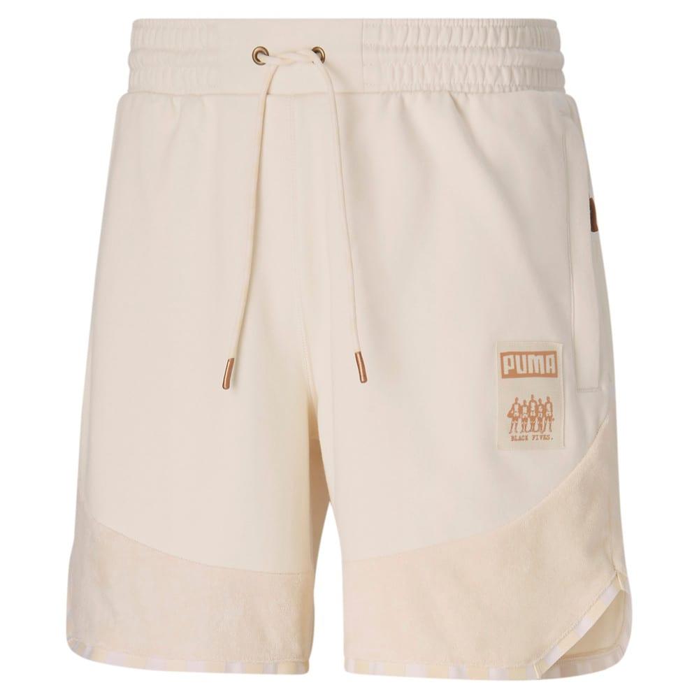 Зображення Puma Шорти Black Fives Men's Basketball Sweatpants #1: no color