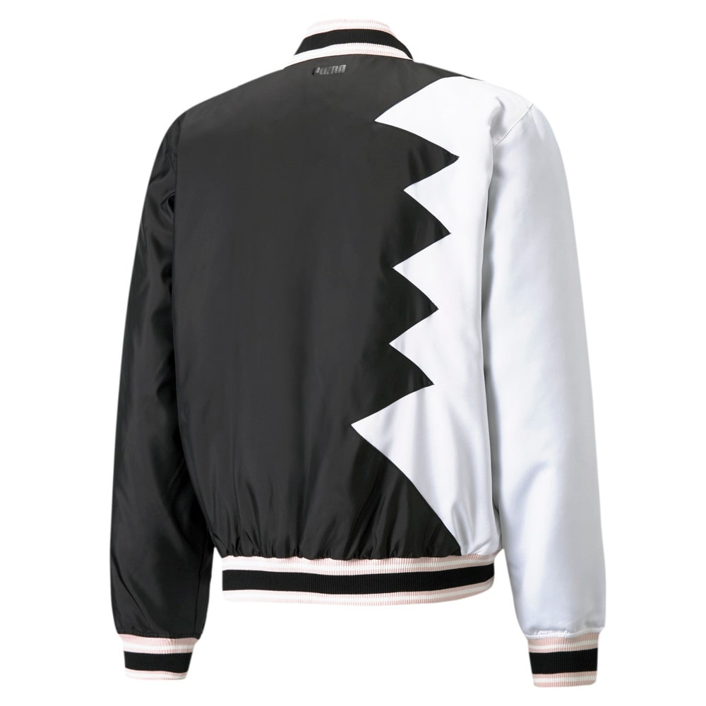 Зображення Puma Бомбер Official Visit Men's Basketball Jacket #2: Puma Black
