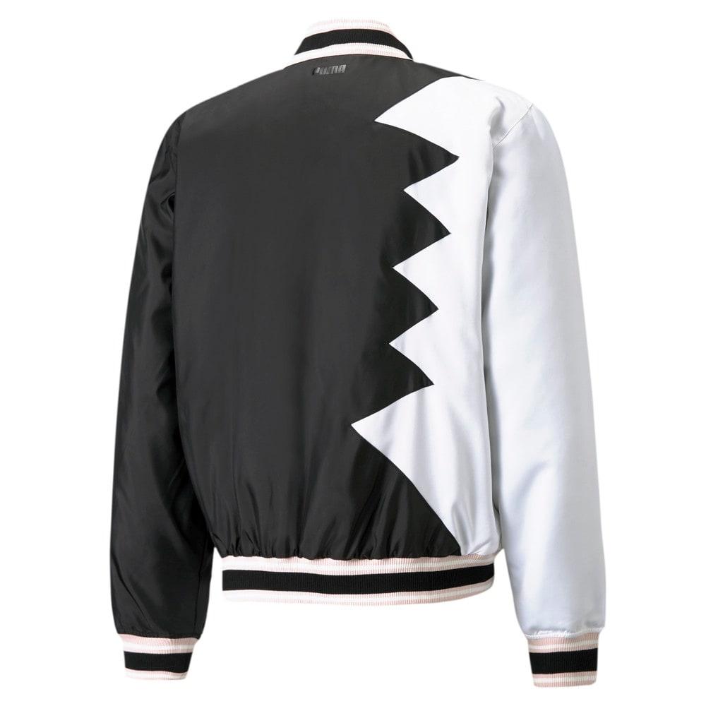 Image Puma Official Visit Men's Basketball Jacket #2