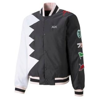 Изображение Puma Бомбер Official Visit Men's Basketball Jacket
