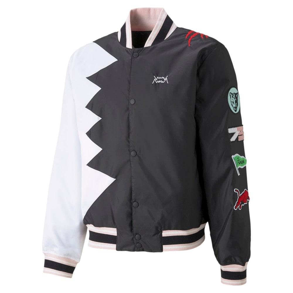 Зображення Puma Бомбер Official Visit Men's Basketball Jacket #1: Puma Black