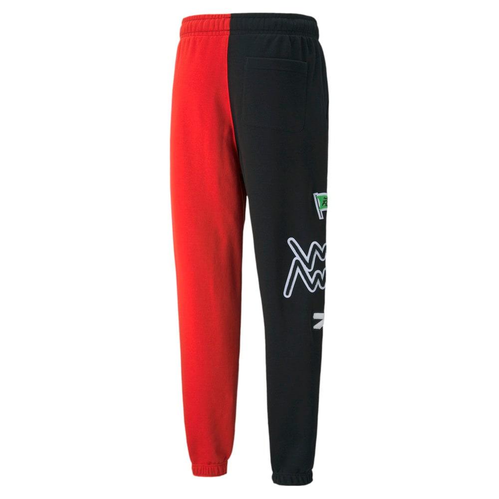 Зображення Puma Штани Combine Men's Basketball Pant #2: Puma Black-High Risk Red