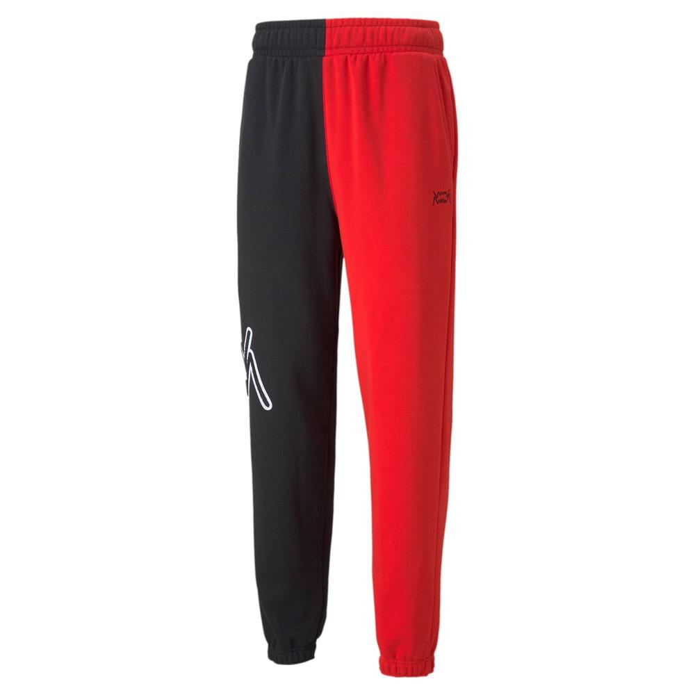 Зображення Puma Штани Combine Men's Basketball Pant #1: Puma Black-High Risk Red