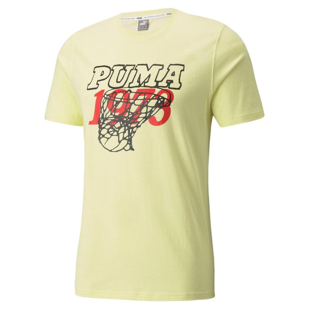 Зображення Puma Футболка Scouted Short Sleeve Men's Basketball Tee #1: Yellow Pear