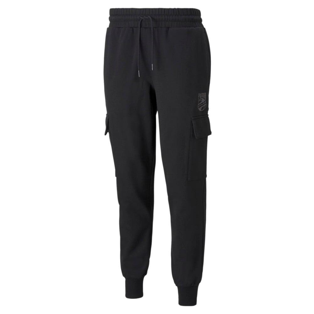 Изображение Puma Штаны Booster Men's Basketball Pants #1: Puma Black