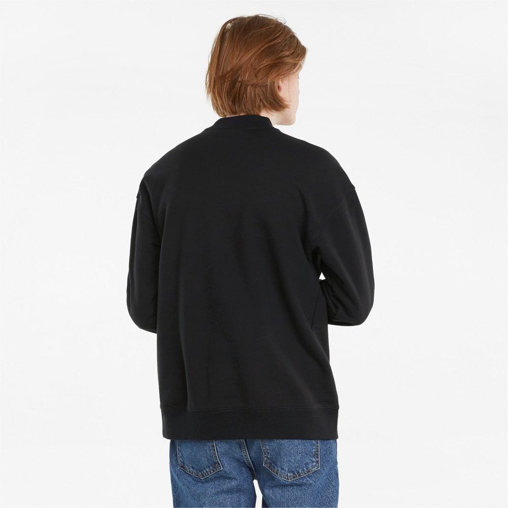 Изображение Puma Толстовка Classics High Crew Neck Men's Sweater #2: Puma Black