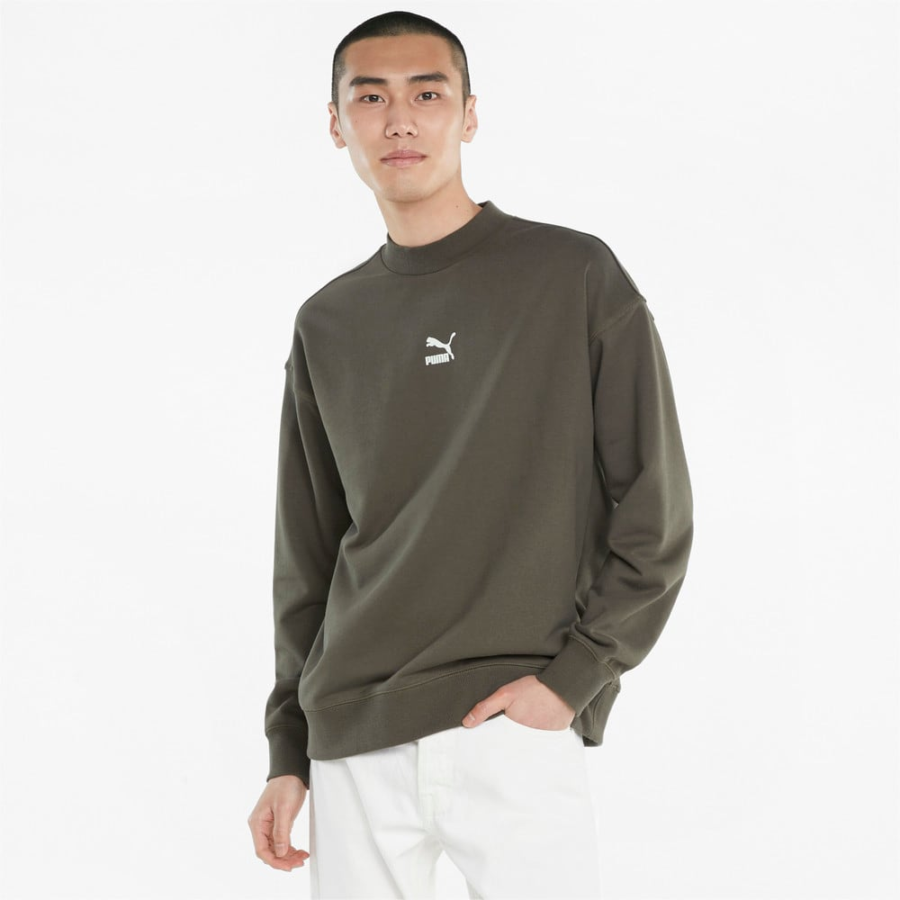 Изображение Puma Толстовка Classics High Crew Neck Men's Sweater #1