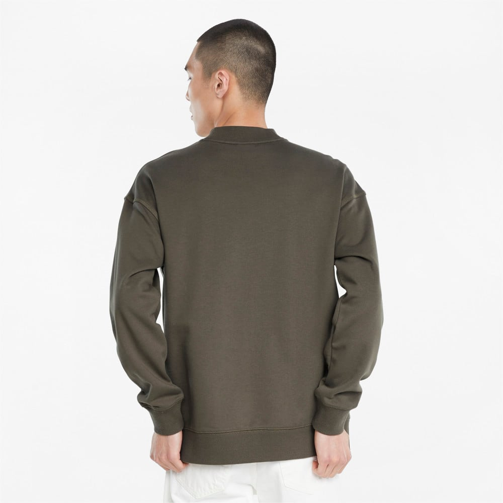 Изображение Puma Толстовка Classics High Crew Neck Men's Sweater #2: Grape Leaf