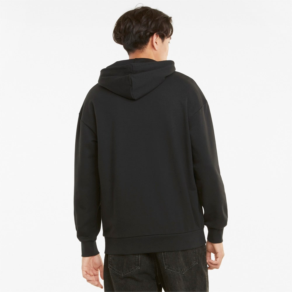 Зображення Puma Толстовка Classics Oversized Men's Hoodie #2: Puma Black
