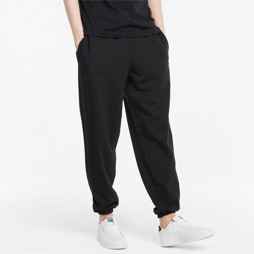 Imagen PUMA Pantalones deportivos de corte holgado para hombre Classics #1