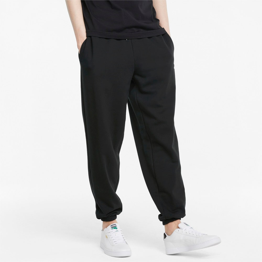 Зображення Puma Штани Classics Oversized Men's Sweatpants #1: Puma Black