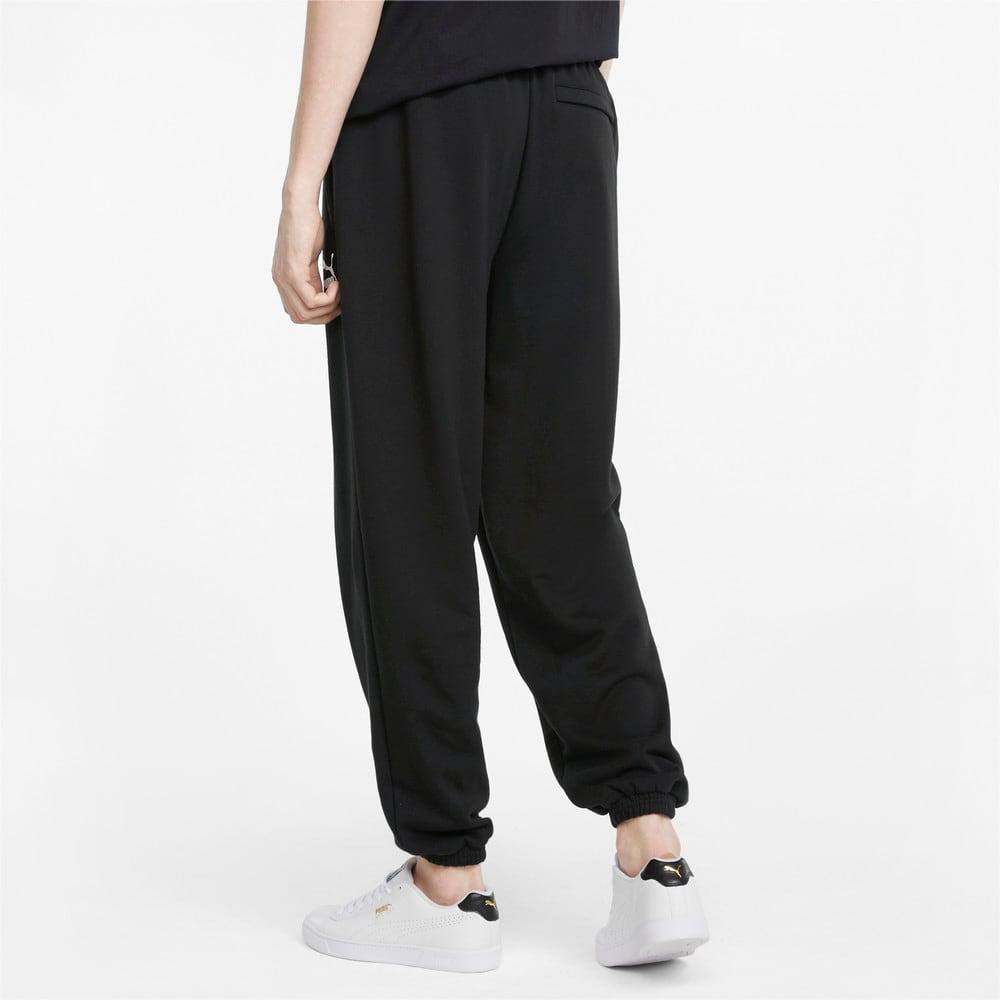 Зображення Puma Штани Classics Oversized Men's Sweatpants #2: Puma Black