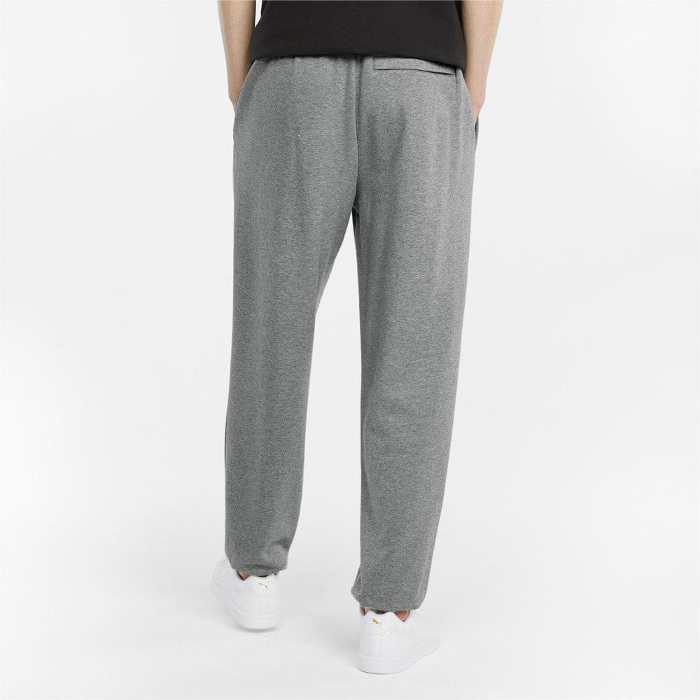 Изображение Puma Штаны Classics Oversized Men's Sweatpants #2: Medium Gray Heather