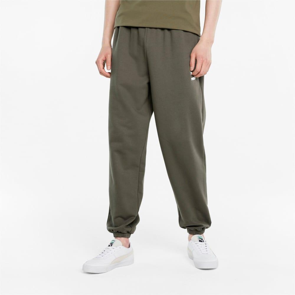 Зображення Puma Штани Classics Oversized Men's Sweatpants #1: Grape Leaf