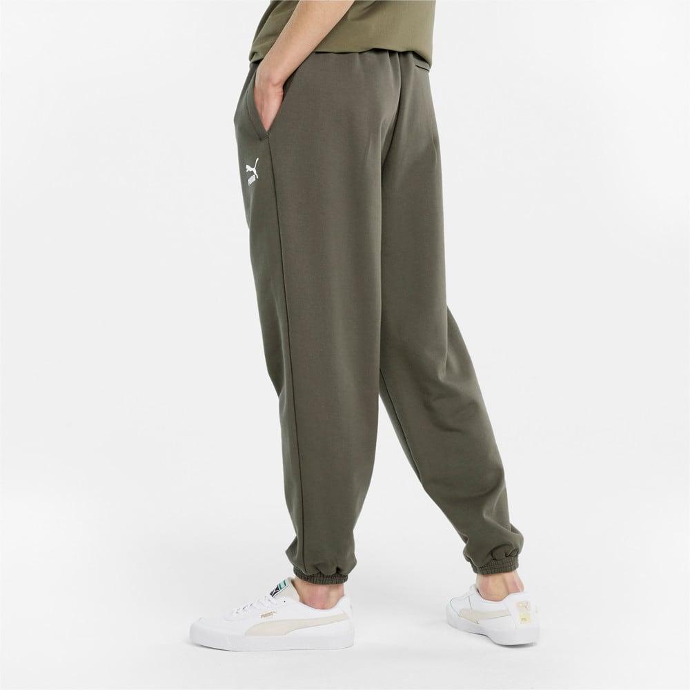 Зображення Puma Штани Classics Oversized Men's Sweatpants #2: Grape Leaf