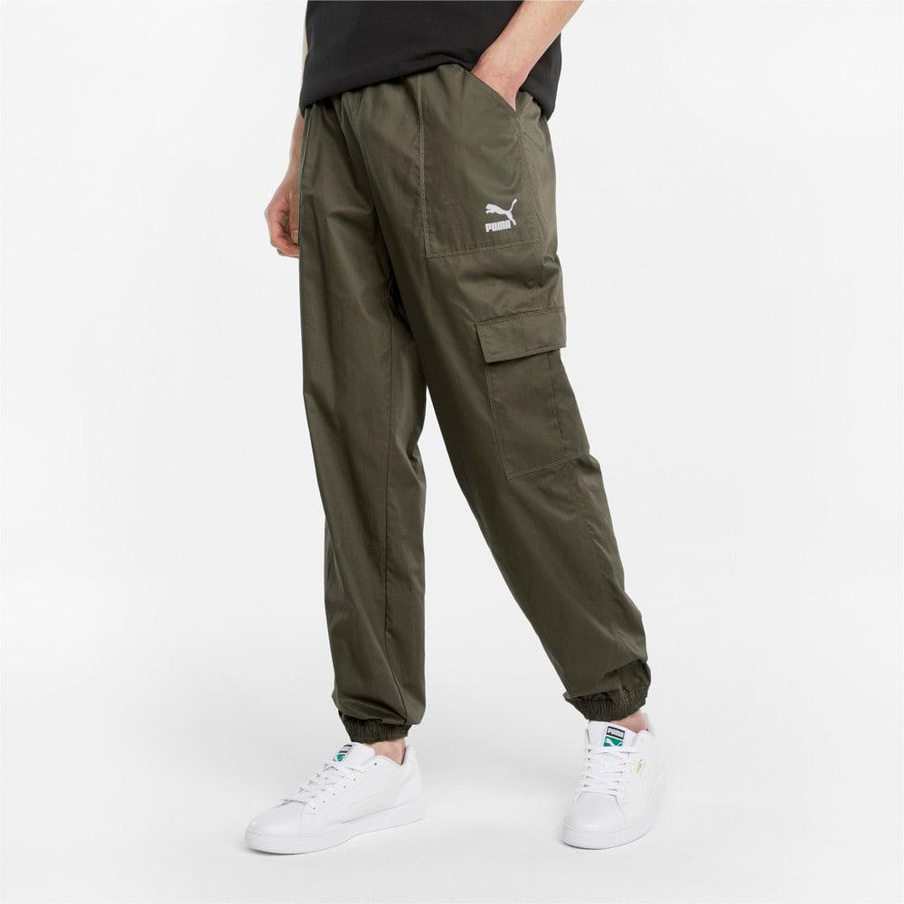 Imagen PUMA Pantalones estilo cargo para hombre Classics #1