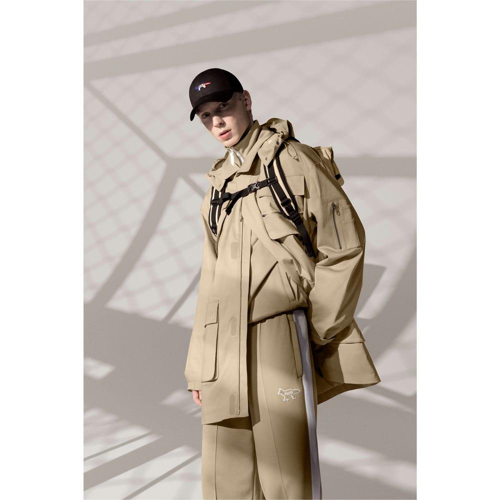 Зображення Puma Куртка PUMA x MAISON KITSUNÉ Men's Military Jacket #1: Travertine
