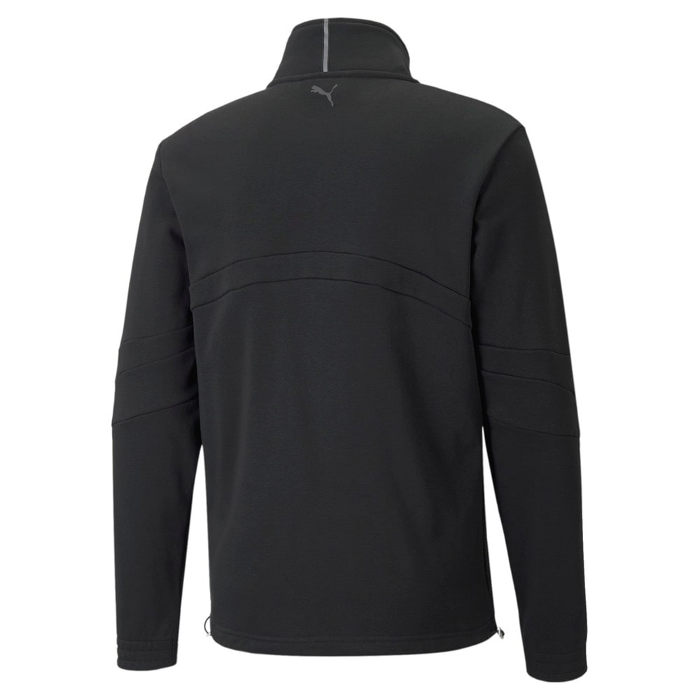 Зображення Puma Олімпійка Flare Men's Basketball Jacket #2: Puma Black
