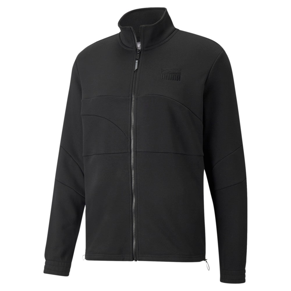 Зображення Puma Олімпійка Flare Men's Basketball Jacket #1: Puma Black