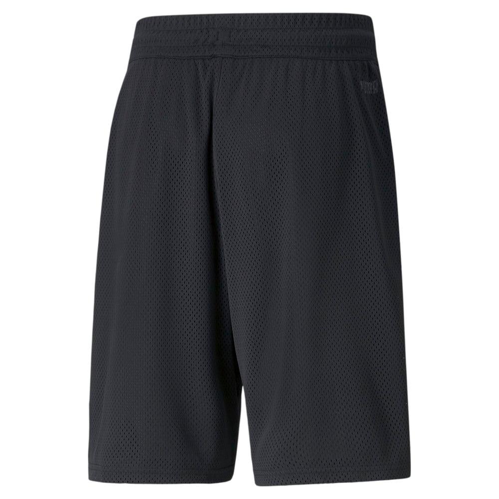 Изображение Puma Шорты Black Fives Men's Basketball Shorts #2: Puma Black