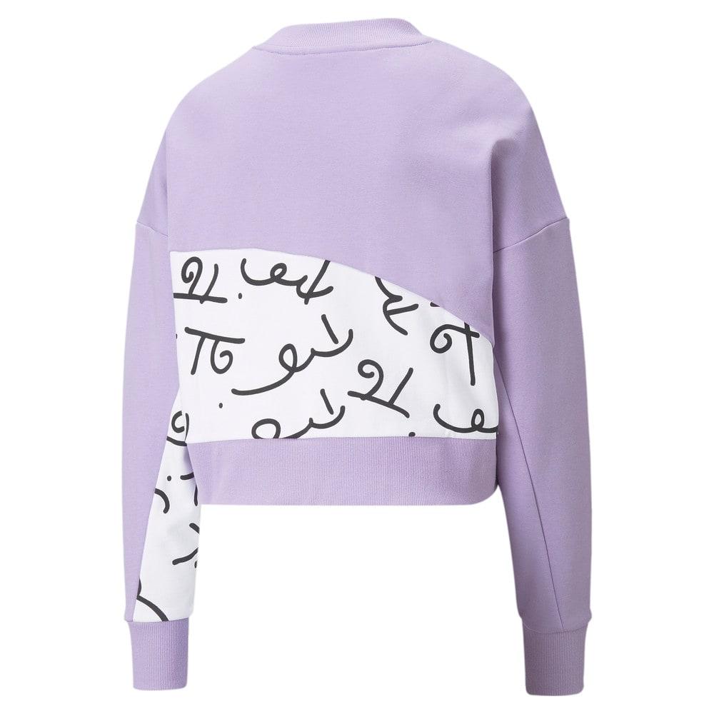 Image Puma PUMA x BRITTO Printed Crew Neck Women's Sweatshirt #2