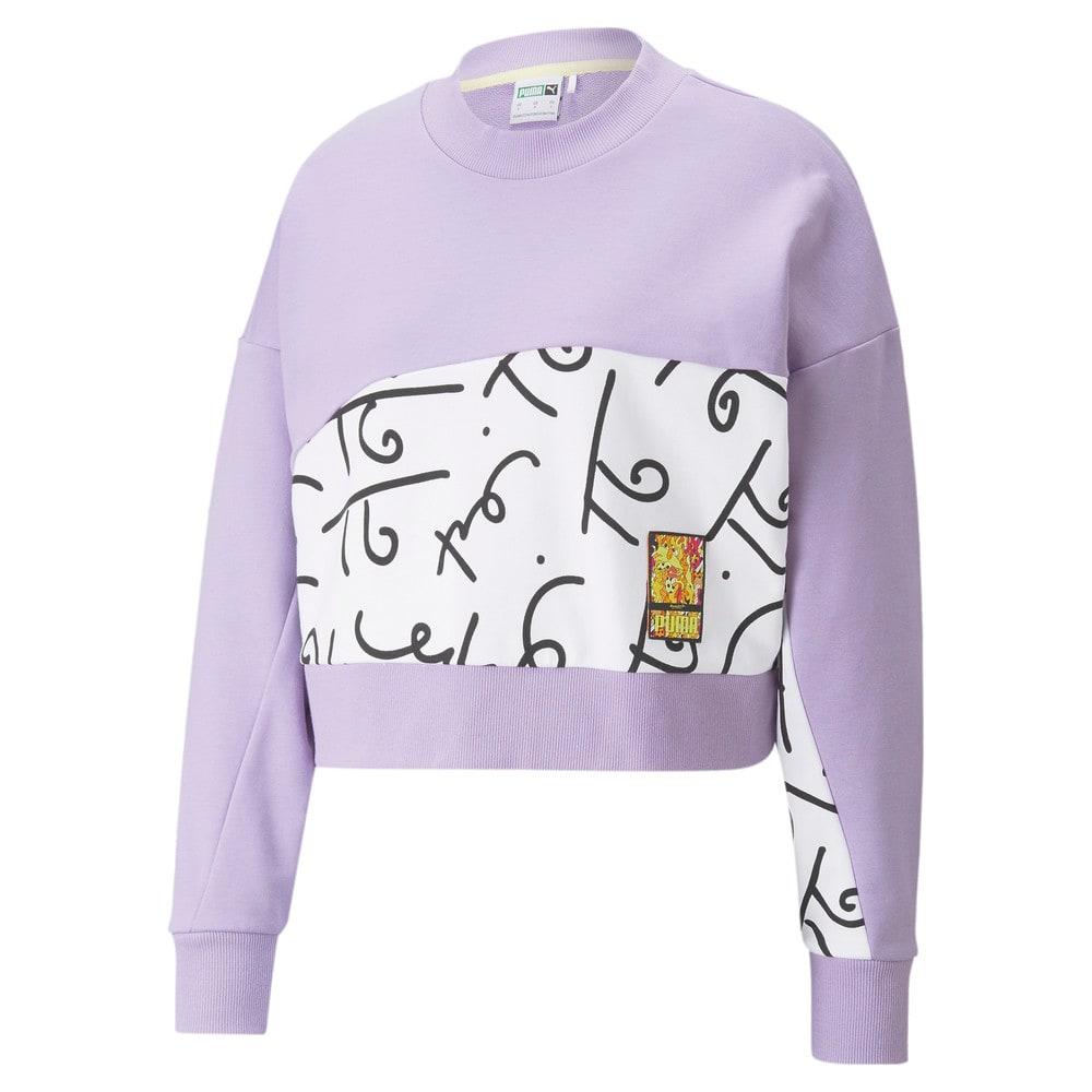 Image Puma PUMA x BRITTO Printed Crew Neck Women's Sweatshirt #1