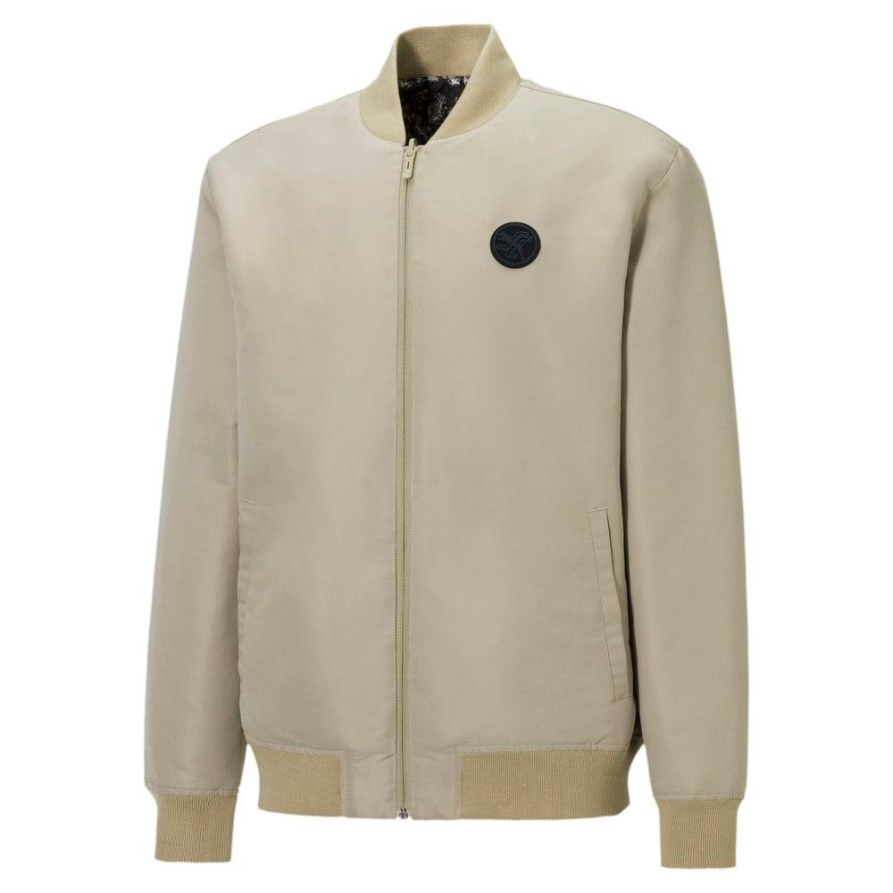 Изображение Puma Олимпийка PUMA x SANTA CRUZ Varsity Jacket #1: Spray Green