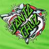 Изображение Puma Футболка PUMA x SANTA CRUZ Tee #3: green flash