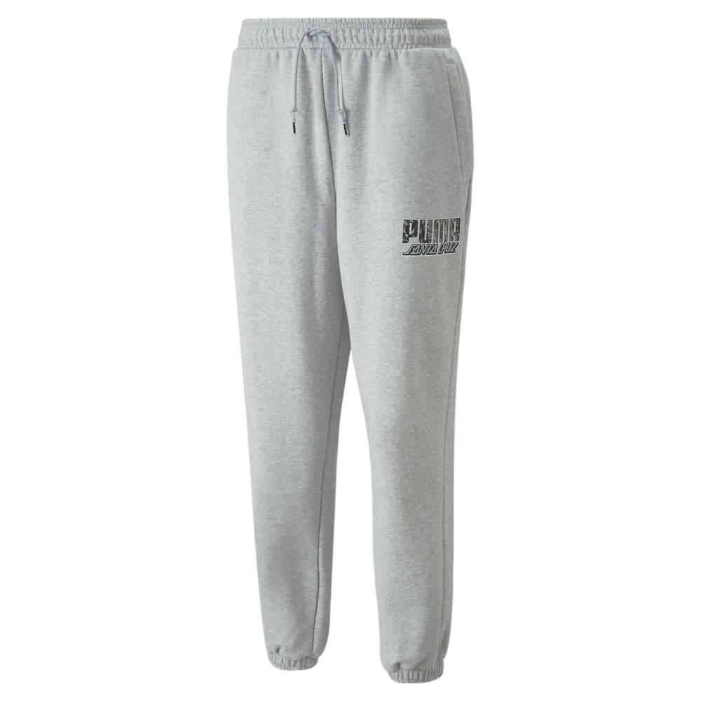 Изображение Puma Штаны PUMA x SANTA CRUZ Sweatpants #1: light gray heather