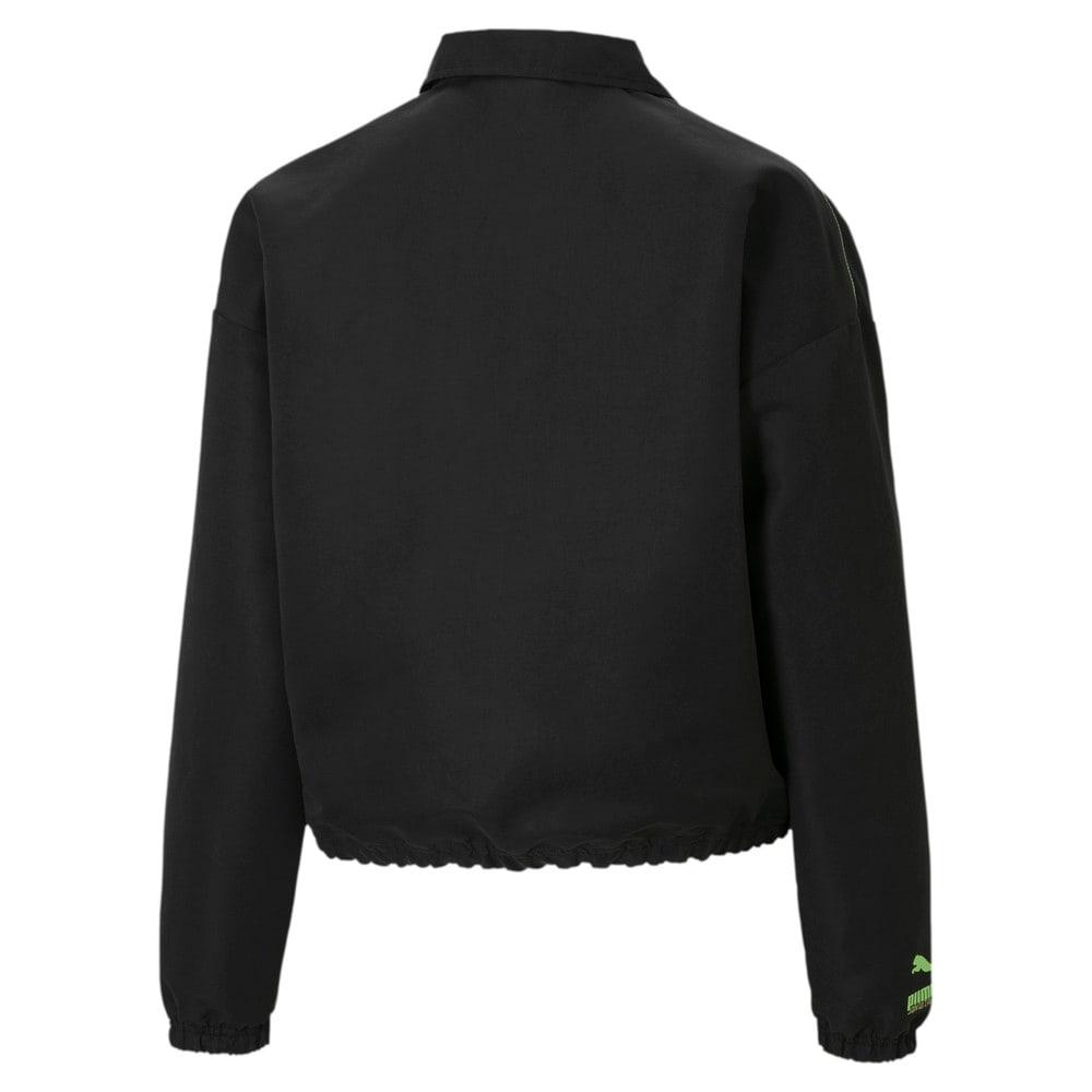 Зображення Puma Куртка PUMA x SANTA CRUZ Women's Coach Jacket #2: Puma Black