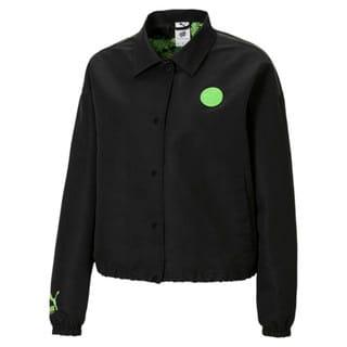 Изображение Puma Куртка PUMA x SANTA CRUZ Women's Coach Jacket