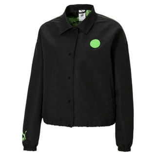 Зображення Puma Куртка PUMA x SANTA CRUZ Women's Coach Jacket