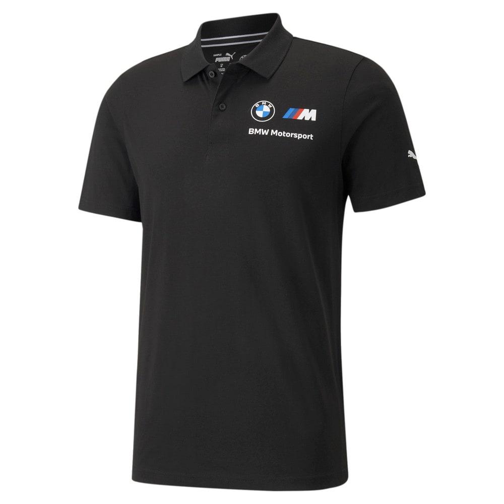 Görüntü Puma BMW M Motorsport ESSENTIALS Erkek Polo T-shirt #1