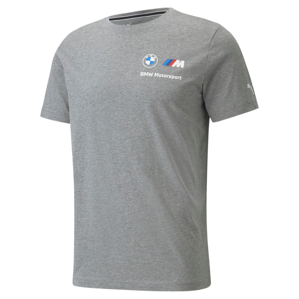 Изображение Puma Футболка BMW M Motorsport Essentials Small Logo Men's Tee #1