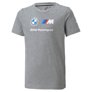 Изображение Puma Детская футболка BMW M Motorsport Essentials Logo Youth Tee